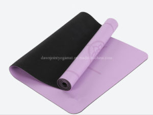 PU Leather Gymnastics Gym Fitness Exercise Folding Mat PU Yoga Mat pictures & photos