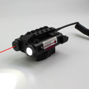 Es-Fx103-Lr Tactical Compact Square Combo of Red Laser Sight with LED Flashlight pictures & photos