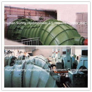 Low Head (2~9 meter) Hydro (Water) Tubular Turbine Generator Gz1250 / Hydropower / Hydroturbine pictures & photos