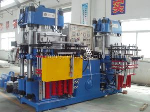 PLC Control Silicone Rubber Moulding Hydraulic Press Made in China pictures & photos
