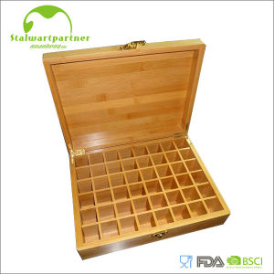 Business Bamboo Box with Lid pictures & photos