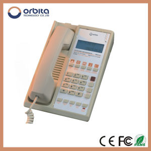 High Quality Top Security Wirless Hotel Telephone, Hotel PBX Guestroom Telephone Mobile pictures & photos