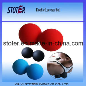 Wholesale Double Peanut Lacrosse Ball pictures & photos