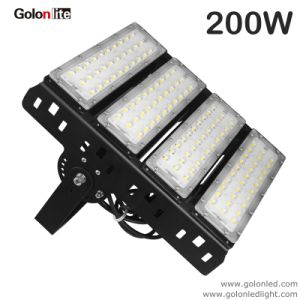 Factor Price USA UK Plug Meanwell Drive 5 Years Warranty 130lm/W 100W 150W 200W 200 Watts LED Flood Light pictures & photos