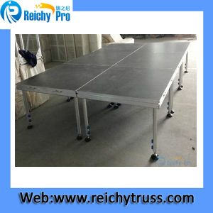 Aluminum Mobile Assembly Lighting Portable Event Portable Platform Stage pictures & photos