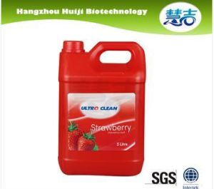 5kg Natural Strawberry Fresh Dish Soap Liquid pictures & photos
