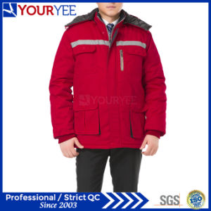 Cheap Workwear Winter Warm Work Uniform with Reflective Tape (YMU122) pictures & photos