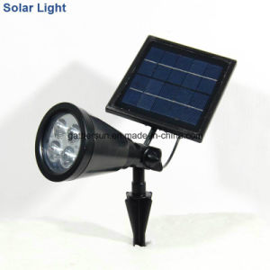 Allumium Solar Light Spotlight Security Light with Colar Changing pictures & photos