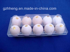 Supermarket Clear Blister Plastic Box for Eggs (PVC egg tray) pictures & photos