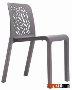 PP Plastic Stacking Dining Chair pictures & photos