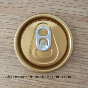 Beer and Carbonated Drink Can with Aluminum 202 Sot Package Lids pictures & photos