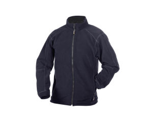 OEM 2016 High Quality in Plain Custom Wholesale Navy Cotton Polar Fleece Jacket pictures & photos