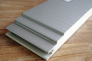Color Coated Steel PU Insulated Sandwich Panel pictures & photos