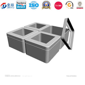 Stainless Steel Food Container with Color Lid pictures & photos