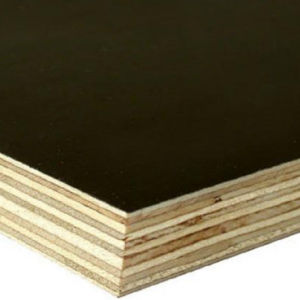 1220X2440mm Poplar Core Anti-Slip Black/ Brown Film Faced Plywood pictures & photos