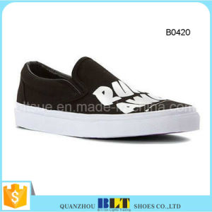Loafers Casual Gold Sale Wholesale Canvas Shoes pictures & photos