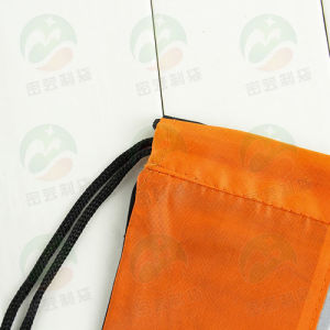 Promotional Waterproof 210d Polyester Sports Drawstring Backpack Shoe Bag M. Y. D-010 pictures & photos