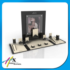 Custom Wooden Jewelry Display with Brand Logo pictures & photos