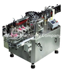 Square Bottle Rotary Type Hot Glue OPP Labeling Machine pictures & photos