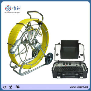 60m Push Rod Cable CCTV Pipe Inspection Camera System pictures & photos