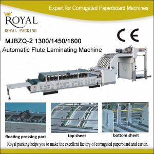 Mjbzq-2 Automatic Flute Laminating Machine pictures & photos