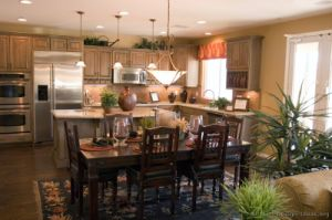 Light Wood Kitchen Cabinet (lw9) pictures & photos