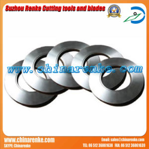 Rotary Round Knife Paper Nonwovens Cutting Blade for Slitting Machine pictures & photos