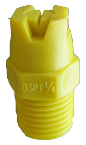 1/4 BSPT or NPT Flatjet Stainless Steel Spray Nozzle pictures & photos