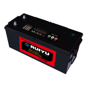 N150 12V 150ah Automotive Battery Made in Korea Truck Battery pictures & photos