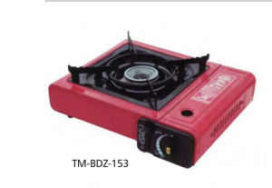 Portable Camping BBQ Gas Grill with Single Burner pictures & photos