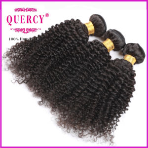 Cambodian Virgin Hair 8A Grade Weave Beauty Kinky Curly Hair Weft for Black Woman pictures & photos