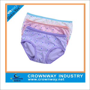 100% Cotton Adorable Soft and Comfortable Girls Underwear pictures & photos