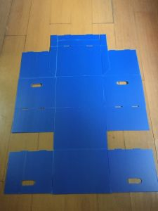 3mm 5mm Polypropylene PP Plastic Box/Blue Correx Coroplast Corflute Box pictures & photos