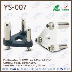 Yysr Brand 3 Pin India Power Plug pictures & photos