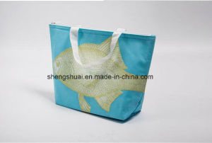 Top Quality OEM Promotional PP Non Woven Ice Cooler Bag