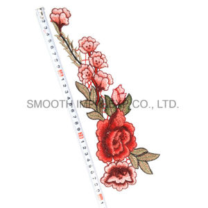 Wholesale Fashion Beautiful Flower Rose Fabric Clothing Accessories Embroidery Patch pictures & photos