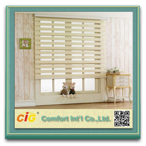 Indoor Natural Colour Blind Zebra Curtain pictures & photos