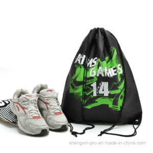 Colors Drawstring Bag with Logo Printing for Shoes