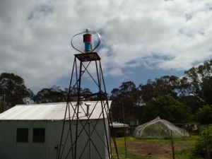 400W Vertical Axis Wind Turbine Generator Project in Australia pictures & photos
