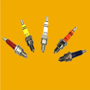 Colourful C7hsa A7tc Motorcycle Spark Plug for Motorcycle Bajaj pictures & photos