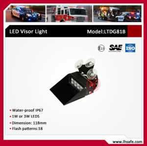 LED Strobe Warning Visor Light (LTDG81B) pictures & photos