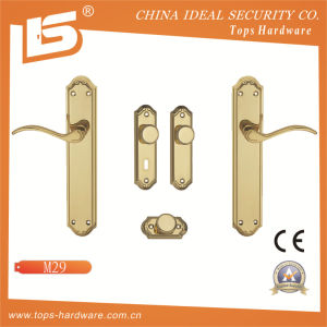 High Quality Brass Door Lock Handle-M29 pictures & photos
