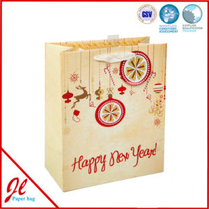 3D Snowflake Christmas Gift Paper Bags Christmas Paper Gift Bags pictures & photos