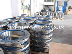 Hot Forged Duplex Stainless Steel Flange of Material A182 F55 pictures & photos