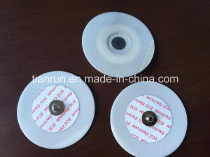 Disposable ECG Monitoring Electrode, PE Foam Backing, Dia. 55mm pictures & photos