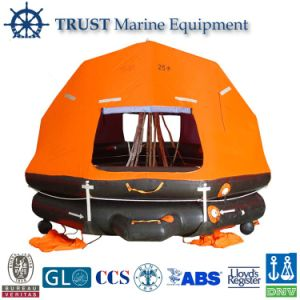 Marine Solas 6, 10, 15, 20, 25, 50, 100, 110, 125 Persons Self-Righting Inflatable Life Raft pictures & photos