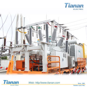 110KV Three-Phase Oil Immersed Power Transformer pictures & photos