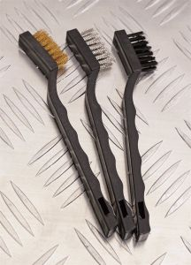 Brush Mini Wire Brush Set for Construction Log Color pictures & photos