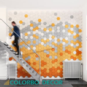 Sound-Absorbing Wood Wool Acoustic Panel pictures & photos