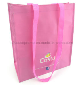 Reusable PP Woven Laminated Shopping Bag with Full Colors Printing pictures & photos